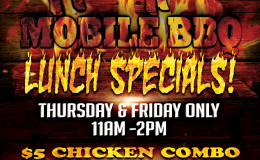 H & H Mobile Barbecue Lunch Special