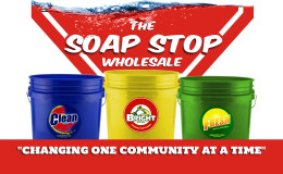Soap Stop Wholesale Business Card Back Alt