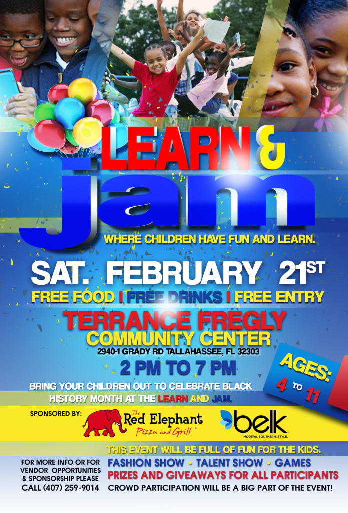 Learn & Jam Flyer Blk Address